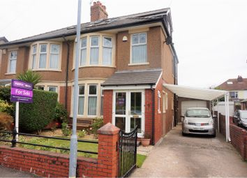 Thumbnail 4 bed semi-detached house for sale in Heol Madoc, Cardiff