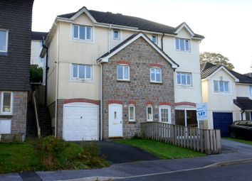 Thumbnail 3 bed terraced house to rent in Kel Avon Close, Truro