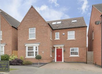 Thumbnail 5 bed detached house for sale in Peregrine Road, Hucknall, Nottinghamshire