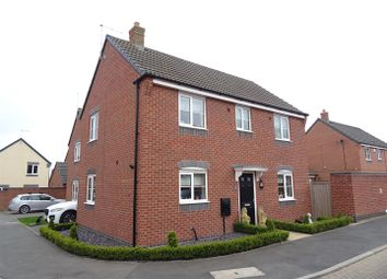 Thumbnail 3 bedroom detached house for sale in Howden Close, Bagworth, Leicestershire