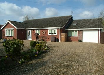 Thumbnail 3 bed detached bungalow for sale in Hawkes Lane, Bracon Ash, Norwich