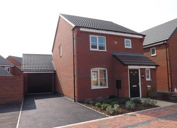 Thumbnail 3 bedroom detached house to rent in Baum Cres, Stoney Stanton