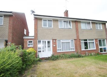 Thumbnail 3 bed semi-detached house to rent in Kirdford Close, Rustington, Littlehampton