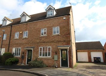 Thumbnail 3 bed town house for sale in Crowsfurlong, Rugby