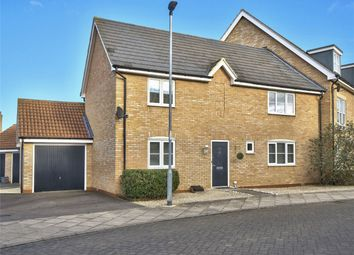 Thumbnail 3 bed semi-detached house for sale in Stokes Drive, Godmanchester, Cambridgeshire
