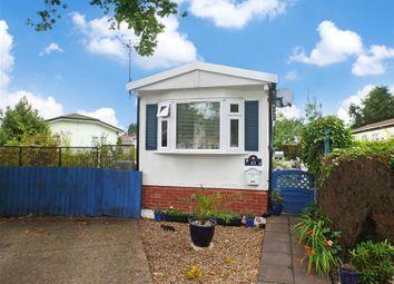Thumbnail 1 bed mobile/park home for sale in London Road, West Kingsdown, Sevenoaks, Kent
