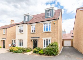 Thumbnail 5 bed detached house for sale in Arnold Rise, Biggleswade