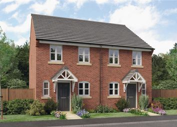 "Thumbnail 2 bedroom semi-detached house for sale in ""Burroughs"" at Mount Pleasant Road, Repton, Derby"