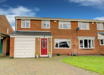 Thumbnail 4 bed semi-detached house for sale in Hoope Close, Yarm