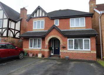 Thumbnail 4 bed detached house for sale in Hampshire Crescent, Lightwood