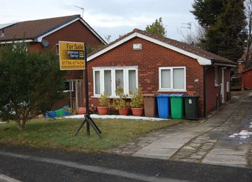 Thumbnail 2 bed detached bungalow for sale in Croxton Avenue, Rochdale
