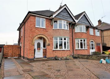 Thumbnail 3 bed semi-detached house for sale in Bilberry Close, Leicester