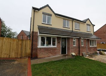 Thumbnail 3 bed semi-detached house for sale in Holmleigh Close, Buckley, Flintshire