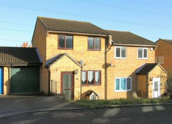 Thumbnail 3 bed semi-detached house for sale in Cusden Drive, Andover