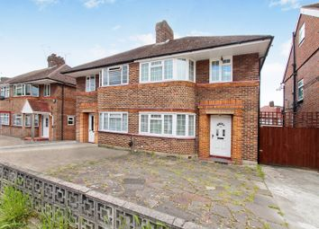 Thumbnail 3 bed semi-detached house to rent in Cheyneys Avenue, Canons Park, Edgware