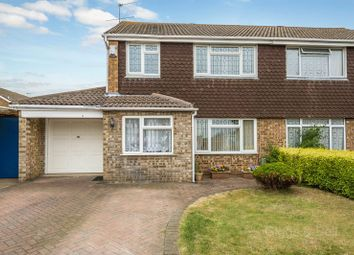 Thumbnail 3 bed semi-detached house for sale in Ilford Close, Luton