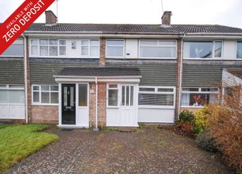 Thumbnail 3 bed terraced house to rent in Esher Court, Brunton Bridge, Newcastle Upon Tyne