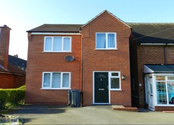 Thumbnail 3 bed detached house to rent in Freasley Road, Shard End, Birmingham