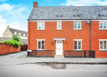 Thumbnail 3 bedroom semi-detached house for sale in Kopernik Road, Haydon End, Wiltshire, Swindon