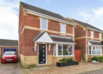 Thumbnail 3 bed detached house for sale in Lancaster Way, East Winch, King's Lynn