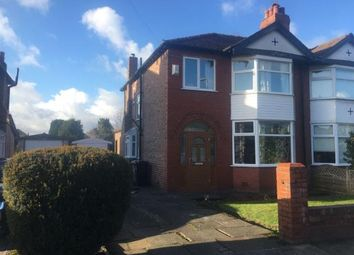 Thumbnail 3 bed semi-detached house for sale in Edale Grove, Sale, Trafford, Greater Manchester