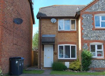 Thumbnail 2 bed end terrace house to rent in Vallance Close, Burgess Hill