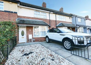 Thumbnail 2 bed terraced house for sale in 1st Avenue, Hull