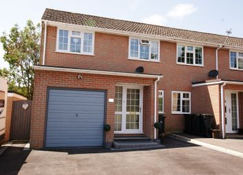 Thumbnail 3 bed end terrace house for sale in Marian Close, Corfe Mullen, Wimborne