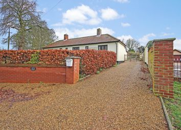 Thumbnail 3 bed detached bungalow for sale in Norwich Road, Scole, Diss