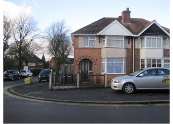 Thumbnail 3 bed semi-detached house to rent in Church Road, Yardley Birmingham