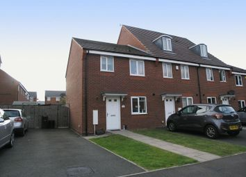 Thumbnail 3 bed mews house for sale in Dudley, Netherton, Wharf Mews