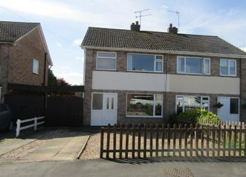 Thumbnail 3 bed semi-detached house for sale in Riddington Road, Littlethorpe, Leicester