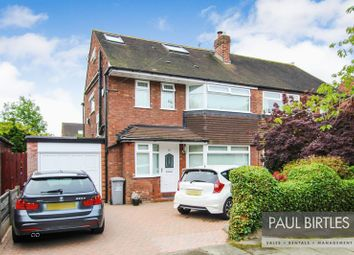 Thumbnail 4 bed semi-detached house for sale in Westmorland Road, Urmston, Manchester