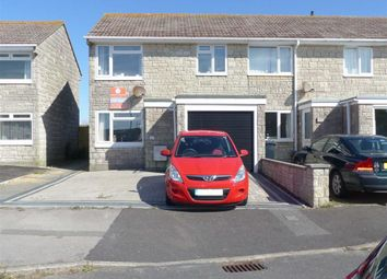 Thumbnail 3 bed end terrace house for sale in Croft Road, Portland, Dorset