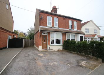 Thumbnail 2 bed semi-detached house for sale in Castle Road, Rayleigh