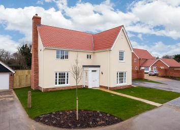 Thumbnail 4 bed detached house for sale in The Street, Gazeley, Newmarket