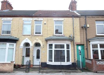 Thumbnail 3 bedroom terraced house for sale in Kelvin Street, Hull
