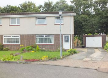 Thumbnail 3 bed semi-detached house to rent in Sandyhills Crescent, Glasgow