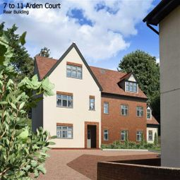 Thumbnail 3 bed flat for sale in Arden Grove, Harpenden, Hertfordshire