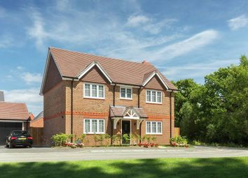 "Thumbnail 4 bed detached house for sale in ""The Lenham - Plot 73"" at North Common Road, Wivelsfield Green, Haywards Heath"
