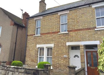 Thumbnail 2 bed end terrace house for sale in Edgeway Road, Marston, Oxford