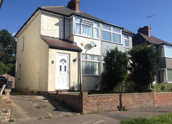 Thumbnail 2 bedroom semi-detached house to rent in Fourth Avenue, Luton, Beds