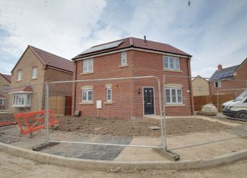 Thumbnail 3 bedroom detached house for sale in The Newbury, Eastrea Road, Whittlesey, Peterborough
