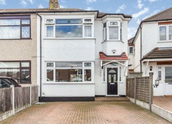 Thumbnail 3 bed semi-detached house for sale in Berkeley Avenue, Romford