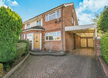 Thumbnail 3 bedroom semi-detached house for sale in Hundred Acre Road, Streetly, Sutton Coldfield, .
