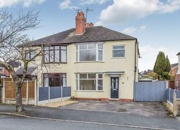 Thumbnail 3 bed semi-detached house for sale in St. Georges Avenue, Newcastle-Under-Lyme