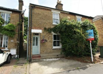 Thumbnail 3 bed semi-detached house for sale in Waverley Road, Weybridge, Surrey