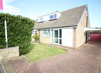 Thumbnail 3 bedroom semi-detached bungalow for sale in Thorne Grove, Rothwell, Leeds