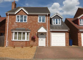 Thumbnail 4 bedroom detached house for sale in Jackson Close, Wisbech St. Mary, Wisbech