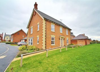 Thumbnail 4 bed detached house for sale in Summerfield Drive, Anstey, Leicestershire